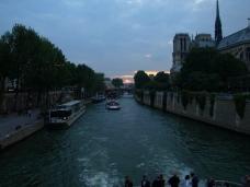 Sunset, Notre Dame, Paris